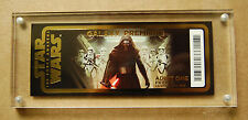 2015 Star Wars The Force Awakens Galaxy Premiere Disney Golden Ticket LE 30,000