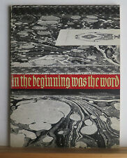 In the Beginning Was the Word 1965 Biblical Liturgical Texts Manuscripts Books