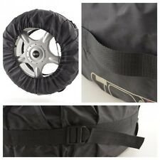 Tyre bags Mature wrap 4 pieces 13-19 Inch Tire width up to 245mm black