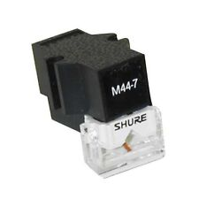 Shure M44-7 Phono Turntable Cartridge M447 DJ Battle Needle Stylus M-447 -NEW-