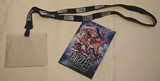 Blizzcon 2014 Official Lanyard & Official Convention Map WoW Warcraft Diablo