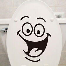 Smile Face Sticker Smiley Home Decor Wall Big Eyes Decoration Decal Bathroom Kid