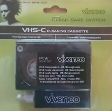 Vivanco VHS-C S-VHS-C CAMCORDER Reinigungs Set VRC 07 Kassette Cleaner, neu