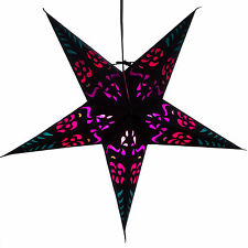 Purple Punch Paper Star Light Lamp Lantern with 12 Foot Cord Included