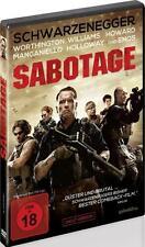 Sabotage - Uncut Version - Schwarzenegger (DVD) - gebraucht (FSK 18) - (G3)