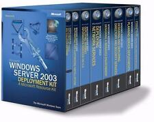 Microsoft(r) Windows Server(tm) 2003 Deployment Kit: A Microsoft Resource Kit (P