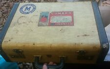VINTAGE MCBRINE TRAVEL SUITCASE HAND LUGGAGE