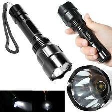 Bright 2000LM UltraFire C8 CREE XM-L T6 LED Flashlight  Focus Torch Lamp 5-Mode