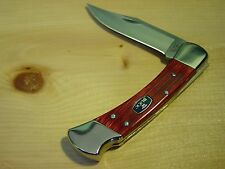 Buck Chairman Model 110 Lock Back Folding Knife - New in Box with Leather Sheath