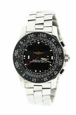 Breitling Airwolf Raven Stainless Steel Watch A7836438/F539