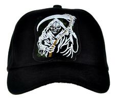 Grim Reaper Death w/ Scythe Hat Baseball Cap Heavy Metal Sons of Anarchy Gift