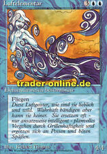 Elementare aria (Air Elemental) Magic limited black bordered German Beta FBB forei