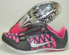 New Nike Zoom Long Jump LJ 4 Track & Field Shoes Spikes Size 11 Black Pink