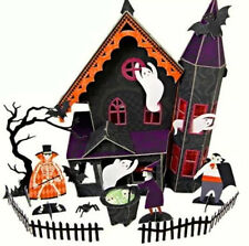 Haunted House Halloween Centrepiece Meri Trick or Treat Party Table Decoration