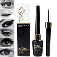 1 x Top Liquid Eyeliner Waterproof Eye Liner Pencil Pen Black Make Up Set 12ml