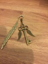 Harry Potter Inspired Winged Skeleton Key BookMark From The Philosopher's Stone