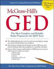 McGraw-Hill GED OFFICIAL STUDY GUIDE      PROGRAM WORKBOOK     FREE SHIPPING !