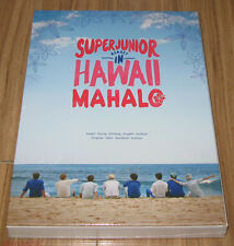 SUPER JUNIOR Memory In Hawaii MAHALO PHOTOBOOK + DVD + MOUSE PAD + POSTER NEW