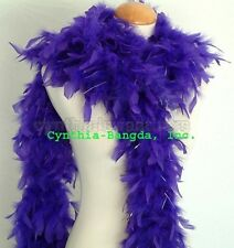 "65g 72"" long Chandelle Feather Boa with Tinsels, ~20 Colors to pick up from NEW!"