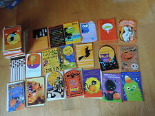 100 AMERICAN GREETING HALLOWEEN CARDS wt ENVELOPES UNUSED MINT free shipping