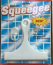 SHOWER SQUEEGEE WITH STORAGE HOOK QUIK& EASY