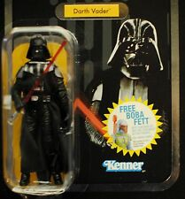 Star Wars ESB Vintage VC08 Darth Vader Foil Variant MOC 3 Piece Removable Helmet