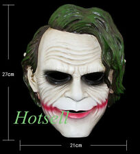 Movie Batman The Dark Knight Clown Joker Mask Resin Halloween Mask