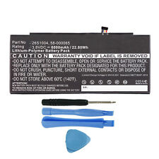 "26S1004 58-000065 Battery Replacement for Amazon Kindle Fire HDX 8.9"" GU045RW"