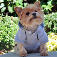 DOG HOODIE teacup yorkie chihuahua xs DOG SWEAT SHIRT DOGGIE DESIGN CLOTHES NEW