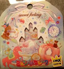 Kawaii CruX Secret Feeling Sticker Flakes Sack 42 Stickers
