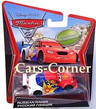 Disney pixar Cars 2 russian racer-Chase car 2011-Ltd. Edition-NEUF & OVP