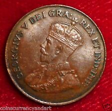 1921 Canada Cent Scarce and High Quality