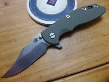 Rick Hinderer Knives XM-18 3.5 - Bowie - S35VN - OD G10 - Authorized Dealer