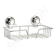 Suction Cup Shampoo Basket Bathroom Accessories Bath Room Ideas Decor Fittings