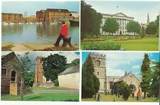 7 x Gloucestershire [+1 Somerset] C1970 STREETS etc, Docks, Dursley, Tewkesbury