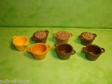 Playmobil: lot de 7 paniers playmobil / baskets