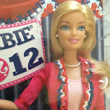 Barbie 2012 I Can Be President- New In The Box - White House Project-For Age 3+