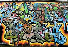 Graffiti Street Art Wall Decor Print 75cm