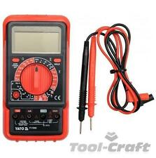 Yato Eléctrico Profesional Digital Multimeter Auto Power Off