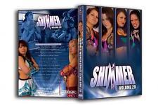 Official Shimmer Women Athletes Volume 29, Female Wrestling Event DVD