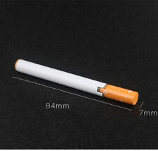 Novelty Windproof Jet Flame Cigarette Shaped Refillable Butane Gas Cigar Lighter