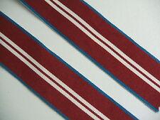 MYB318A Queen Elizabeth II Diamond Jubilee Medal 2012 Ribbon Full Size 2@15cm