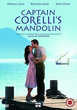 Captain Corelli's Mandolin DVD corellis coreli New Sealed Original UK Release R2