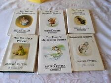 Vintage Beatrix Potter F Warne & Co. Little Books with Dust Jackets One French