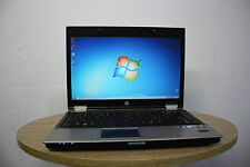"Home Laptop Hp Elitebook 8440P 14.1"" core i7 4GB 250GB Windows 7 Webcam GRADE B"