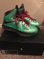 Lebron X 10 Jade Miami South Beach Cannon Entry All Star Area 52 China Cannon Qs