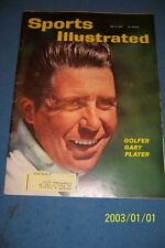 1961 Sports Illustrated THE MASTERS Gary PLAYER Arnold PALMER Free Shipping
