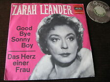 "7""  SINGLE Zarah Leander Good Bye Sonny Boy Germany 50s / 60s  
