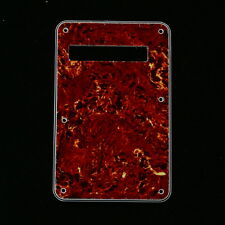 Standard Strat Style Guitar Cavity Cover Tremolo Back Plate ,4ply Tortoise