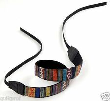 Retro Vintage SLR DSLR Camera Neck Shoulder Strap Belt for Sony NEX Canon NIKON